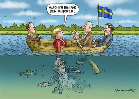 boat financing europe kleiner eu schwedengipfel karikatur via marian