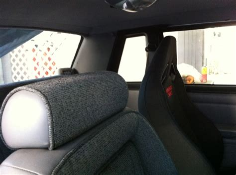 93 mustang recaro seats 2012 302 seats installed in fox coupe 93coupe