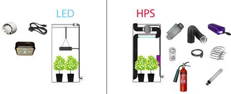 led vs hid grow lights led grow lights versus hps why led grow lights are better