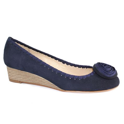 unisa damaris low heel wedge shoe shoes gb