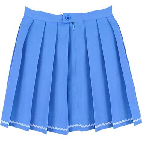 blue striped tennis skirt inu inu tennis