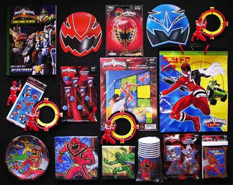 Power Rangers Decorations by Power Rangers Birthday Supplies
