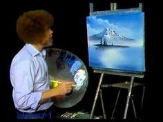 bob ross grayscale painting bob ross seascape painting