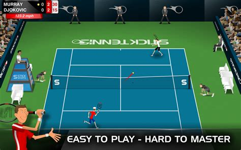 stick tennis mod apk modunlocked unlimited balls android apk - Stickman Tennis Apk