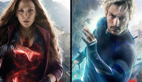 quicksilver movie poster scarlet witch and quicksilver get avengers age of ultron