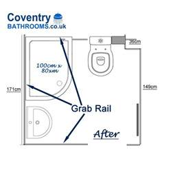 disabled bathroom shower for pensioner with mobility contour showers uk specialists in disabled showers l