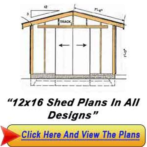 12 x 16 foot shed plans haddi