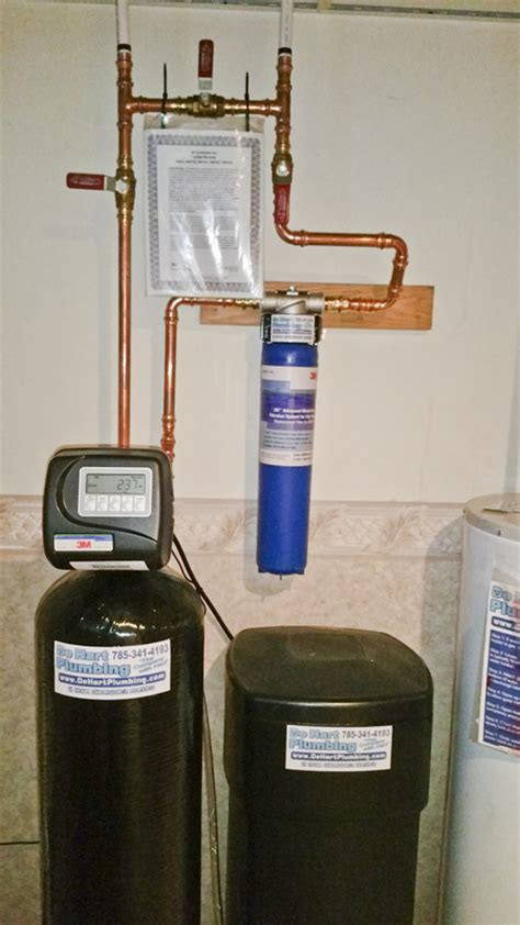 How To Install Whole House Water Filter by De Hart Plumbing Heating Cooling Manhattan Ks