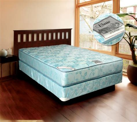 Does Sell Mattresses by Comfort Classic Gentle Firm Size Mattress And Box