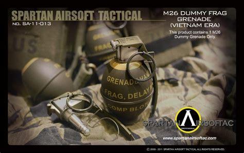 Dummy Replika M26 Frag Grenade spartan airsoft m26 frag grenade dummy vietname era without version warrior airsoft
