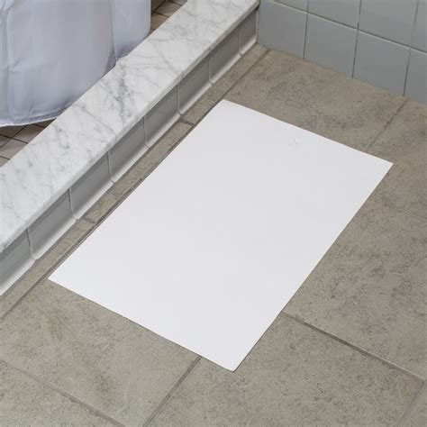 Disposable Shower Mats For Showers - hoffmaster 851000 14 1 4 quot x 20 quot hotel and motel disposable