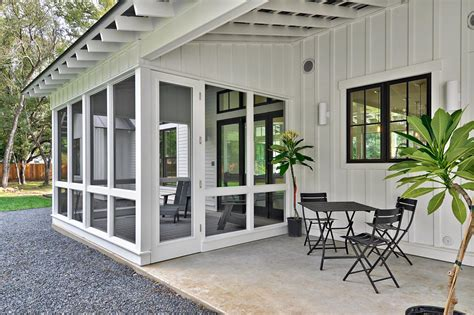 modern farmhouse porch photos hgtv