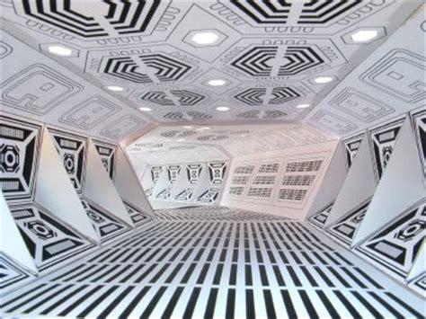 Sci Fi Papercraft - sci fi corridor paper model