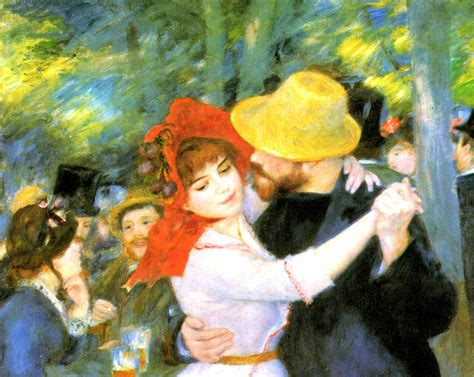 Large Home Plans Dance At Bougival Detail Digital Art By Pierre Auguste Renoir
