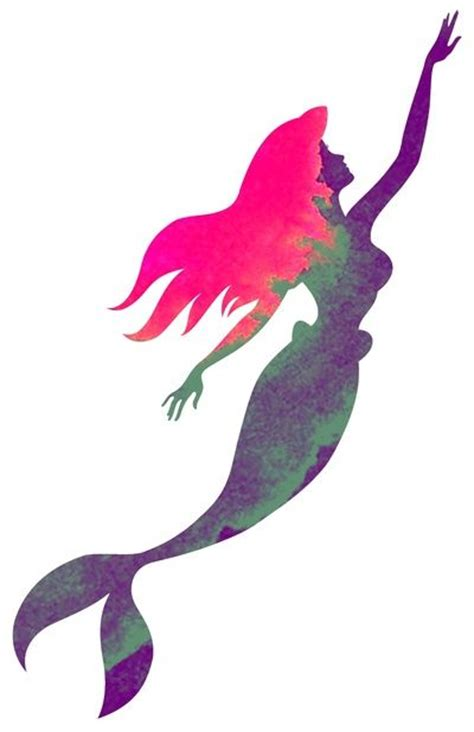 mermaid silhouette tattoo 1000 ideas about mermaid tattoos on