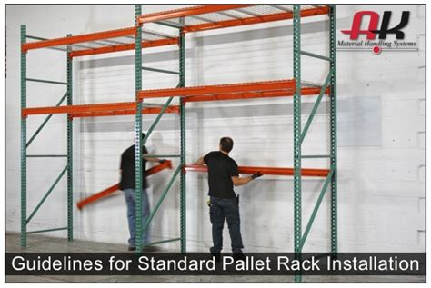Rack Installation Warehouse Shelving Installation Guidelines Selective