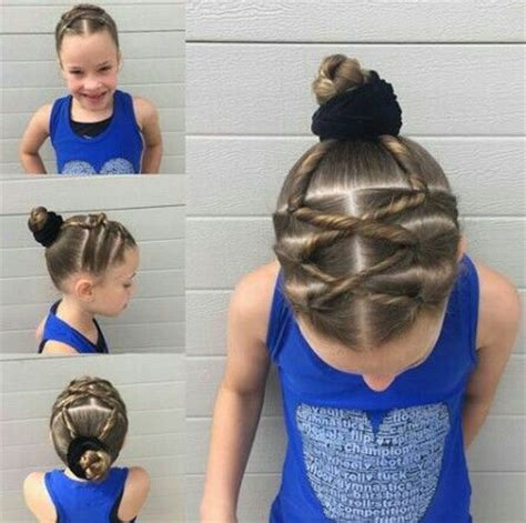 hairstyles for gymnastics meets 17 best ideas about gymnastics hairstyles on pinterest