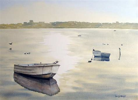 lake macquarie house boats watercolor paintings boats and the sea gallery seascapes