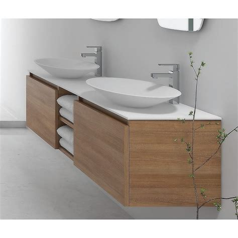 mobile bagno con due lavabi mobile bagno da 175cm design moderno e colori guarda