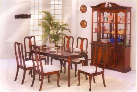 queen anne dining room set furniture gt dining room furniture gt dining room set