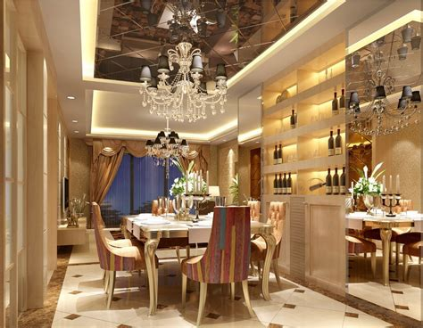 luxury dining room free download european style luxury living dining room