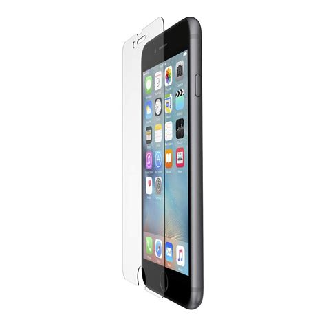 belkin tempered glass screen protector for iphone 6 6s plus