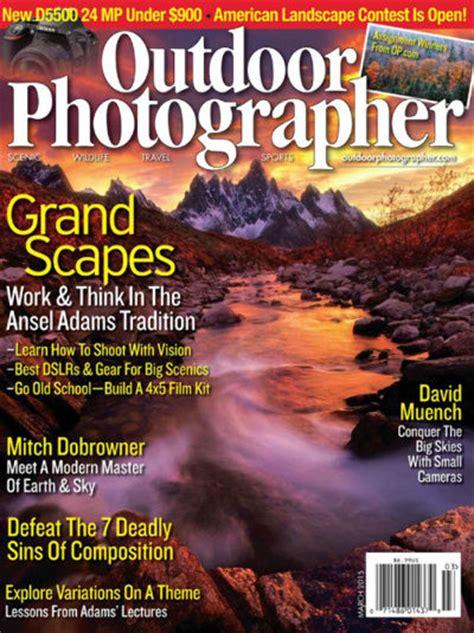 magazine discount outdoor photographer magazine 80 discount on