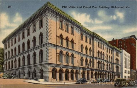post office and parcel post building richmond va