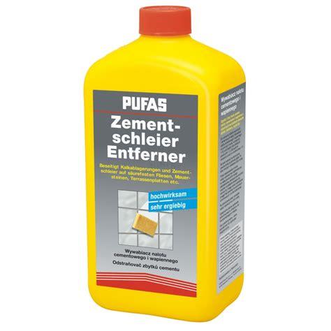 Zementschleier Auf Fliesen Entfernen 6264 by Zementschleier Entferner Pufas 1 Liter