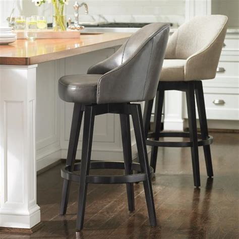 quality bar stools cocoanais com cafe swivel counter stool arhaus furniture with regard to