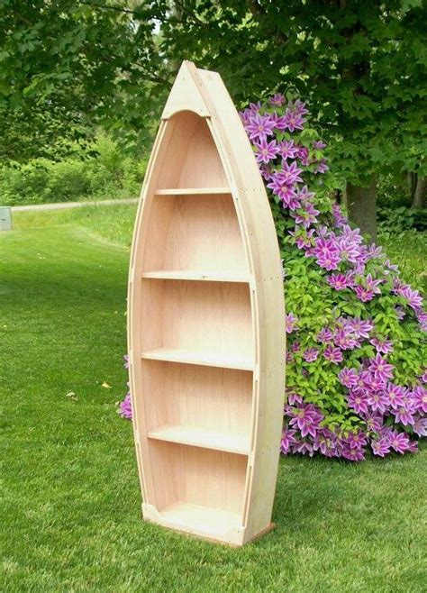 row your boat fish bar menu 6 ft unfinished row boat bookshelf via etsy for a nautical