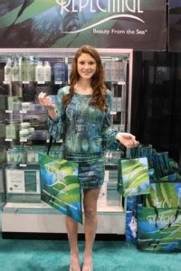 armstrong mccall trade shows lydia sarfati attends america s beauty show to brighten