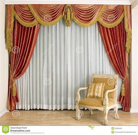images of curtains beautiful curtain in living room stock images image