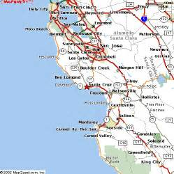 felton california map santa california map my