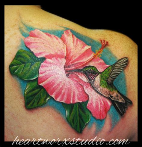 hibiscus hummingbird tattoo designs hummingbird and hibiscus by vellevong on deviantart