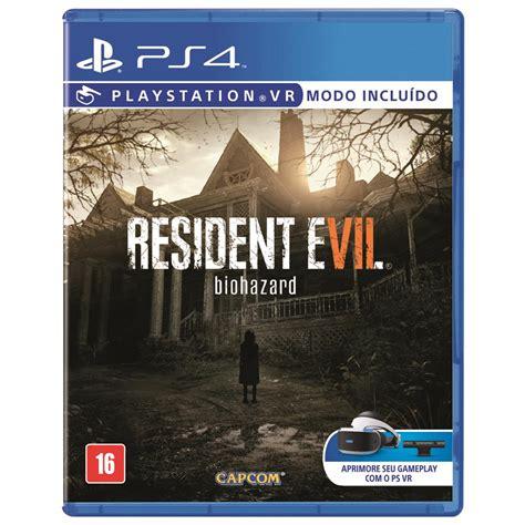 Ps4 Resident Evil 4 By Cgbgameshop jogo resident evil 7 ps4 jogos playstation 4 no