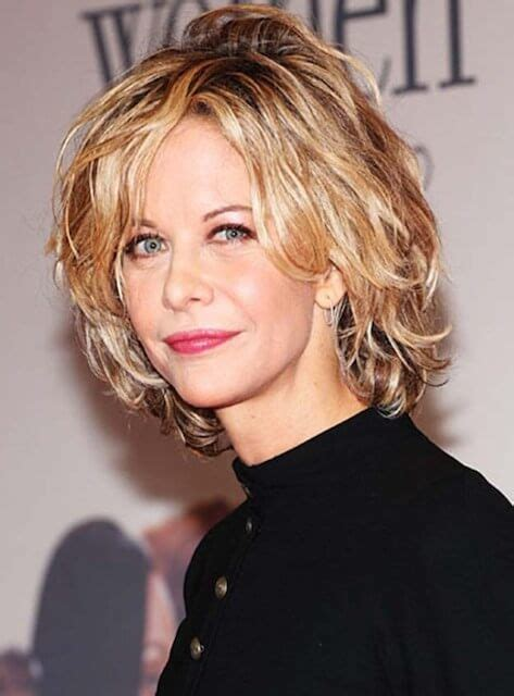 meg ryan short hairstyles for women over 50 meg ryan height weight body statistics healthy celeb