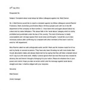 15 hr complaint letter templates free sle exle