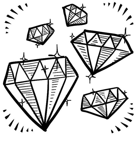 printable jewel shapes 12 images of jewel shapes coloring pages diamond drawing