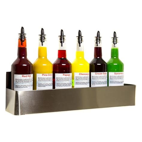 stainless steel bottle rack wall mount   single hold