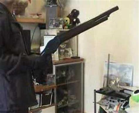 Airsoft Gun Winchester M1887 marushin m1887 terminator 2 shotgun spinning and review