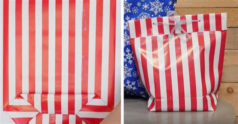Gift Bags From Wrapping Paper - transform beautiful wrapping paper into a stunning gift