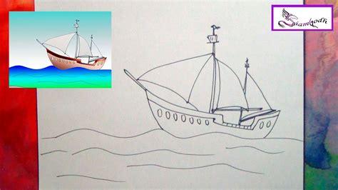 imagenes de barcos faciles para dibujar como dibujar un barco de velero tutorial dibujo f 225 cil para