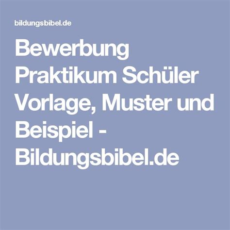 Praktikum Bewerbung Koch Vorlage 17 best ideas about bewerbung muster on
