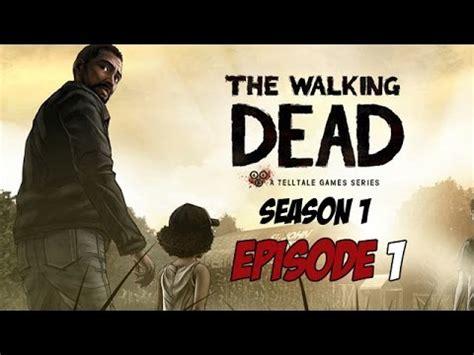 misteri film the walking dead the walking dead season 1 episode 1 game movie youtube