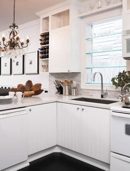 Oxford White Kitchen Cabinets with Beadboard Kitchen Cabinets Contemporary Kitchen Benjamin Oxford White