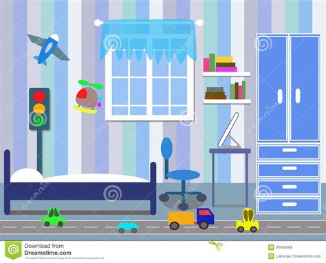 Bedroom Clipart Vector Boys Bedroom Royalty Free Clipart Panda Free Clipart