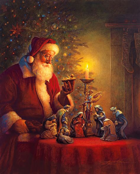 the spirit of christmas painting by greg olsen