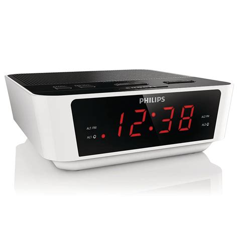 Alarm Clock Philips digital radio alarm clocks uk goodmans gcr01 alarm clock
