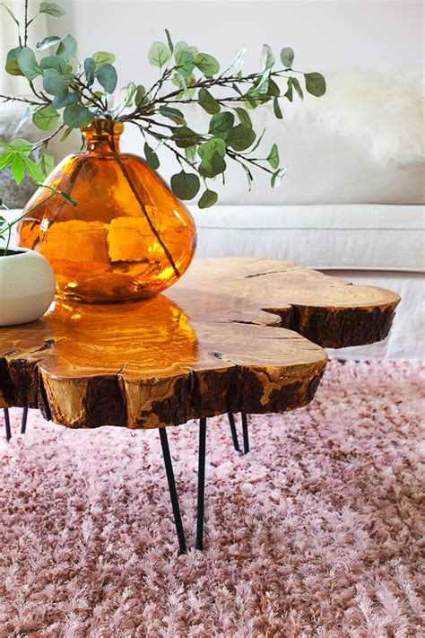 live edge coffee table diy sourcing materials for a live edge coffee table a